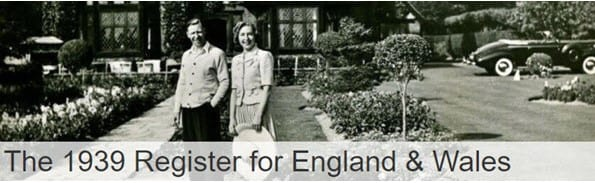 1939 Register for England and Wales