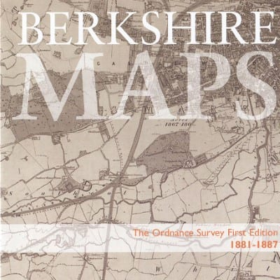 Berkshire Maps, Ordnance Survey Maps, First Edition, 1881-1887
