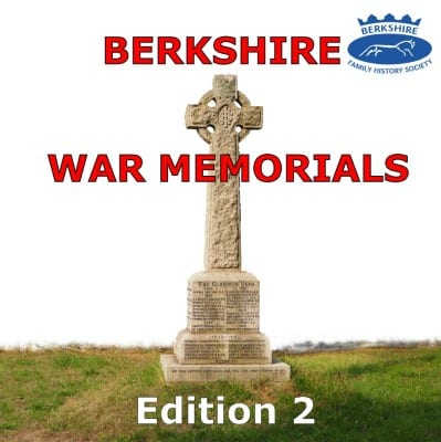 Berkshire War Memorials Edition 2