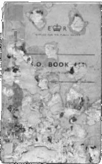 Image of an historic document, damaged, and in need of restoration
