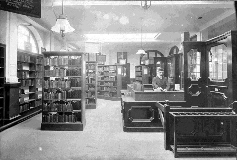 Battle Library, previously known as West Branch Library, Reading 1910