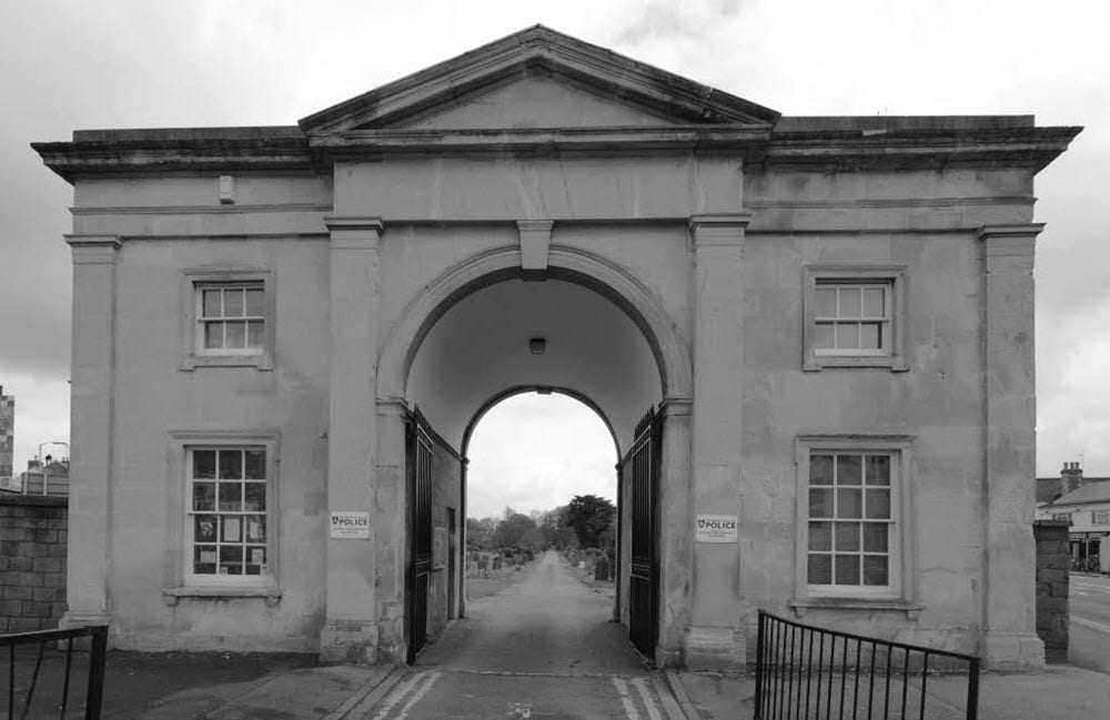 Cemetery Junction entrance (courtesy of cemtereyjunction.org.uk)