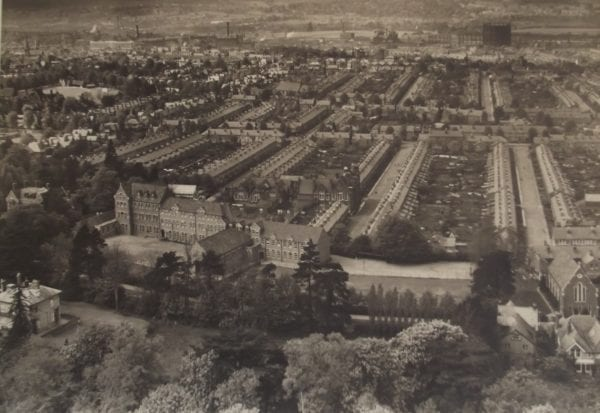 Aerial View of St Georges Hall(copyright St Josephs College)