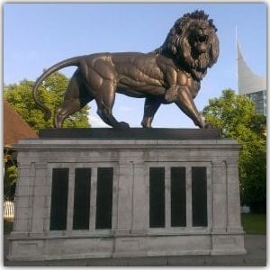 Maiwand Lion war memorial