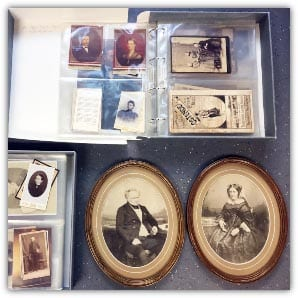 Photographs and memorabilia